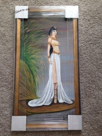 Art donated by Berkana resident for the Whispering Equine silent auction