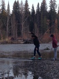 Berkana residents explore Fish Creek Provincial Park